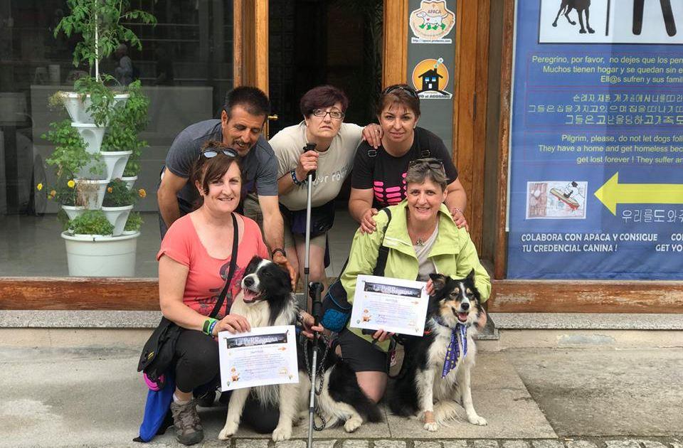 Compostela canina para NOA y ROI